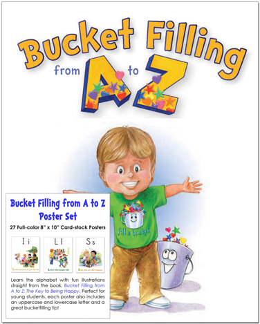 Bucket Filling From a to Z poster set cover