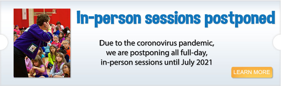 <p>In-person sessions postponed</p>