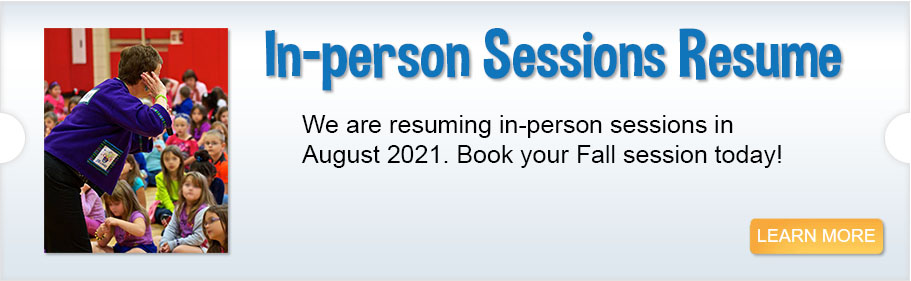 <p>In-person sessions resume</p>