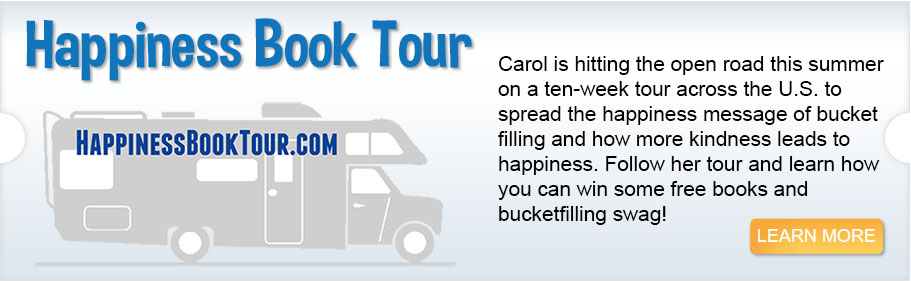 <p>This summer's Happiness Book Tour</p>